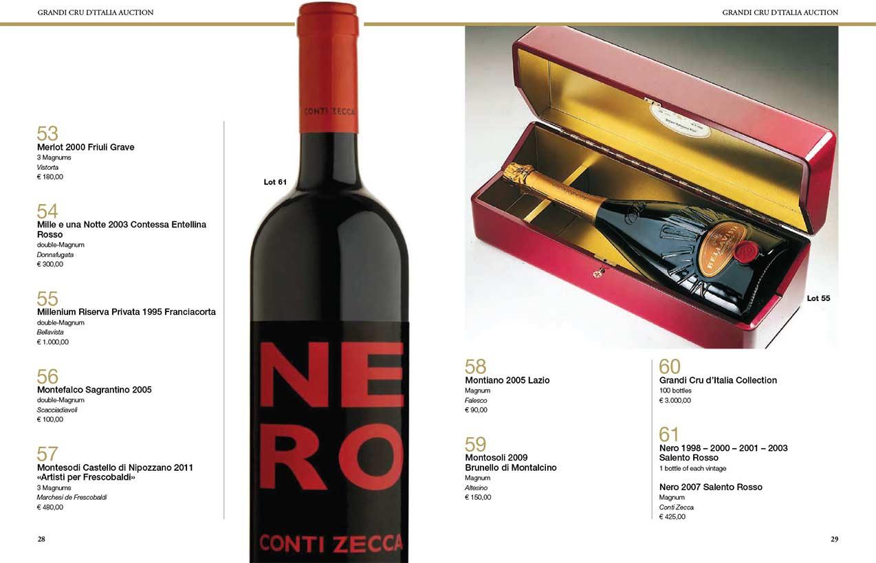 Grandi Cru d'Italia Auction's Catalogue_2017_interni 1
