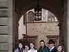 Castello Vicchiomaggio_Famiglia Matta sul portone